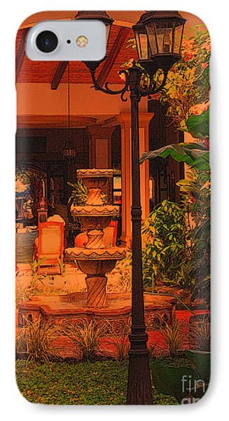 IPhone Case featuring the photograph Hotel Alhambra by Lydia Holly
