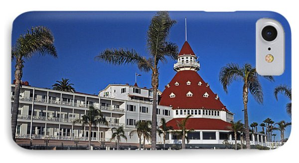 Hotel Del Coronado  Phone Case by Jonathan Whichard