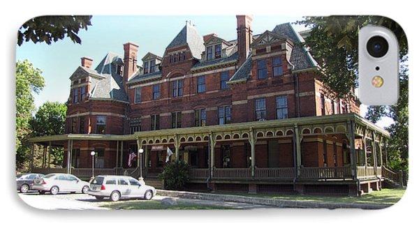 Hotel Florence Chicago Illinois IPhone Case by Cedric Hampton