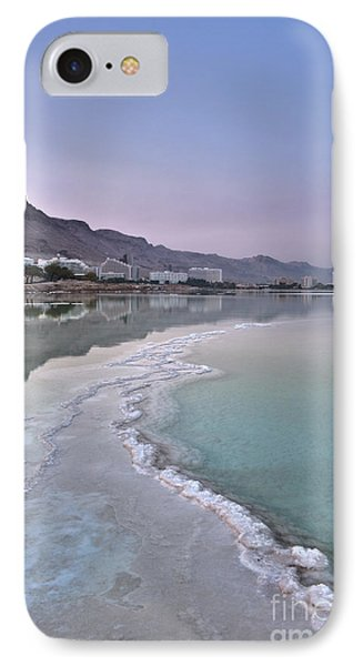 Hotel On The Shore Of The Dead Sea Phone Case by Noam Armonn