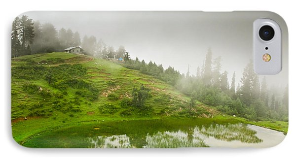 House And Fog Phone Case by Syed Aqueel