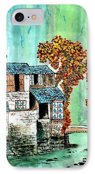 House By The River IPhone Case