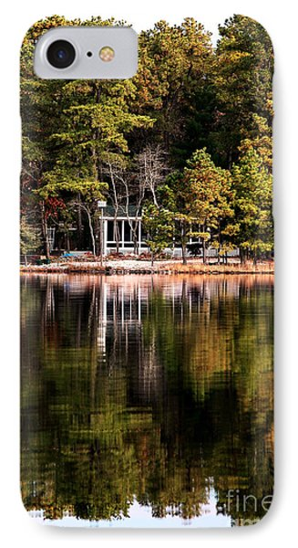House On The Lake Phone Case by John Rizzuto