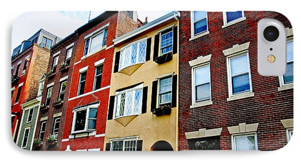 Houses In Boston IPhone Case by Elena Elisseeva