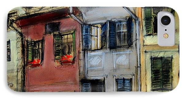 Houses In Transylvania 1 Phone Case by Mona Edulesco