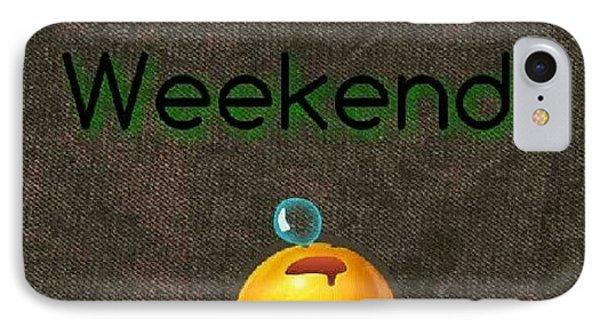 How I Spend Weekends #jo #amman #jordan IPhone Case