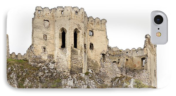 IPhone Case featuring the photograph Hrad Beckov Castle by Les Palenik
