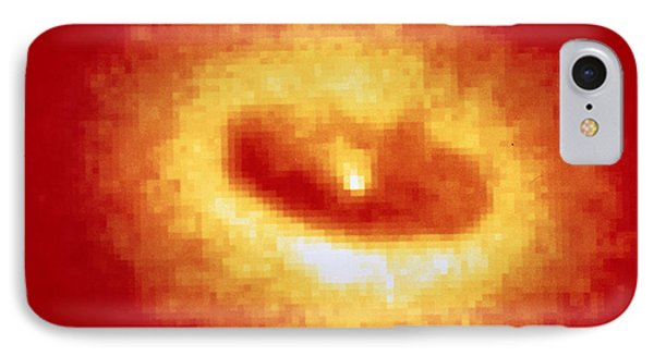 Hst Image Of Ngc 4261 Core & Dust Disc Phone Case by Space Telescope Science Institute / NASA