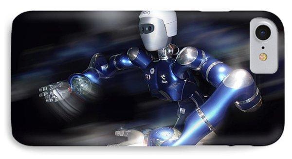 Humanoid Robot, Artwork Phone Case by Detlev Van Ravenswaay