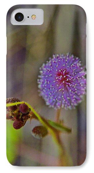 Humble Weed 1 IPhone Case by Jocelyn Kahawai