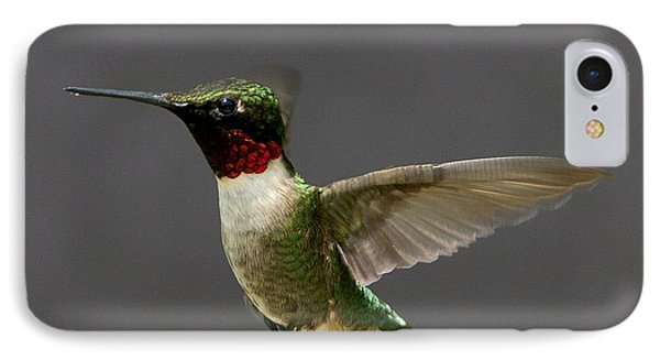 IPhone Case featuring the photograph Hummingbird 1 by John Crothers
