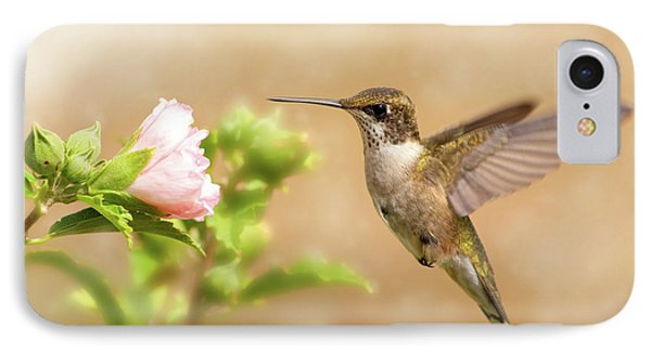 Hummingbird Hovering IPhone Case