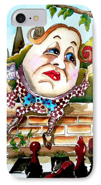 Humpty Dumpty IPhone Case by Lucia Stewart