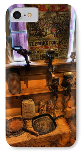 Hunterdon County Fair - General Store - Vintage - Nostalgia - Meat Grinders Phone Case by Lee Dos Santos