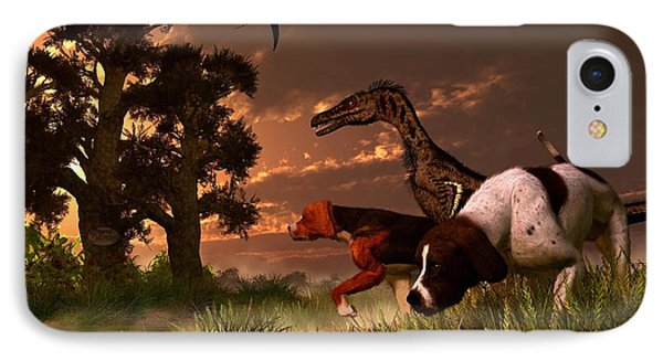Hunting In The Age Gene Splicing IPhone Case
