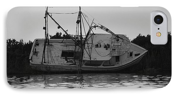 IPhone Case featuring the photograph Hurricane Boat by Luana K Perez