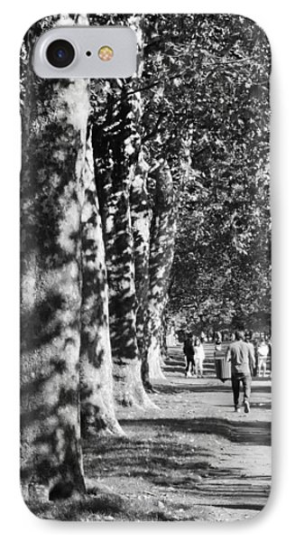 IPhone Case featuring the photograph Hyde Park Trees by Maj Seda