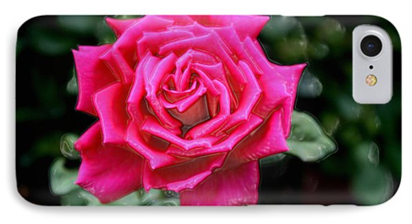 IPhone Case featuring the photograph I Am A Beautiful Rose  I Am Who I Am by Sherri  Of Palm Springs