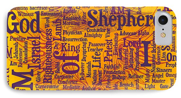 I Am Shepherd 2 Phone Case by Angelina Vick