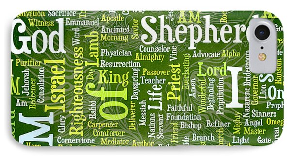 I Am Shepherd Phone Case by Angelina Vick