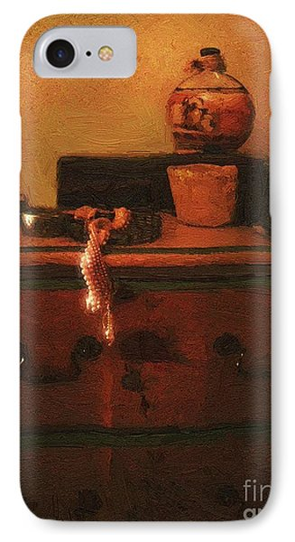 I Do Love Pearls Phone Case by RC deWinter
