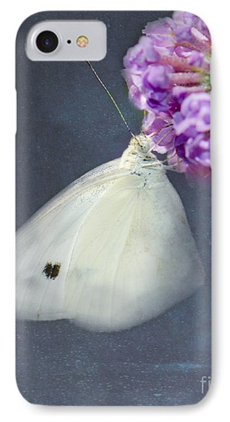 I Dream Of A White Butterfly IPhone Case by Betty LaRue