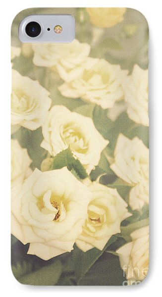Yellow Roses IPhone Case by Cindy Garber Iverson