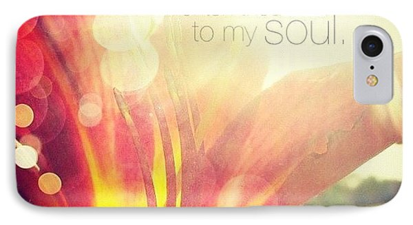i Have Found A Friend In Jesus IPhone Case by Traci Beeson