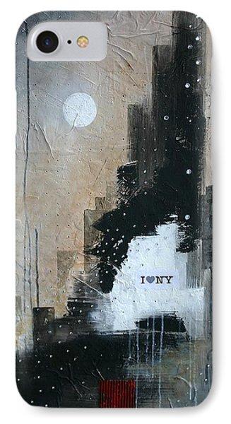 I Love Ny Phone Case by Germaine Fine Art