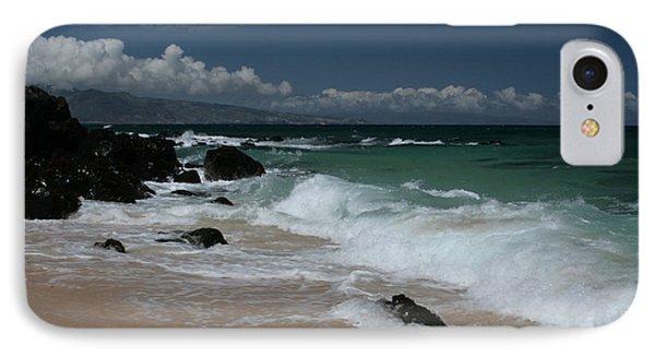 i miha kai i ka aina Hookipa Beach Maui North Shore Hawaii Phone Case by Sharon Mau