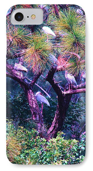 IPhone Case featuring the photograph Ibis-gone To Roost by Joy Braverman