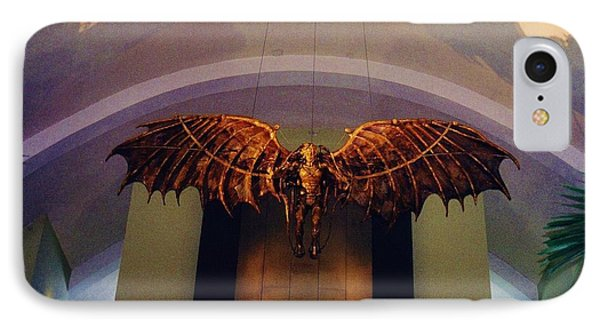 Icarus In The Louis Armstrong International Airport In New Orleans Phone Case by John Malone