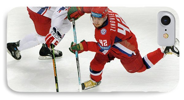 Ice Hockey Phone Case by Ria Novosti