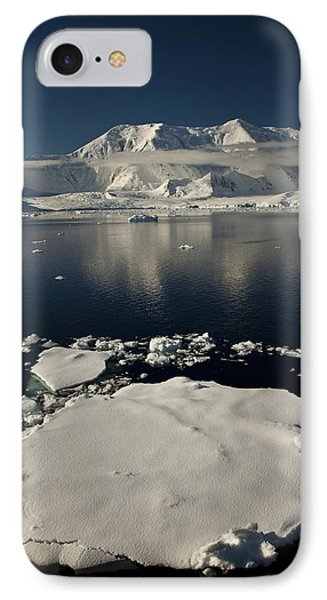 Icefloe In The Neumayer Channel Phone Case by Colin Monteath