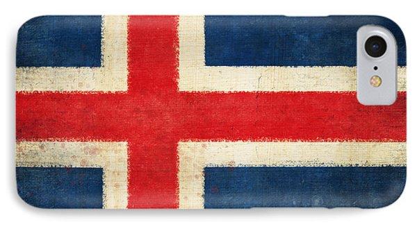 Iceland Flag Phone Case by Setsiri Silapasuwanchai