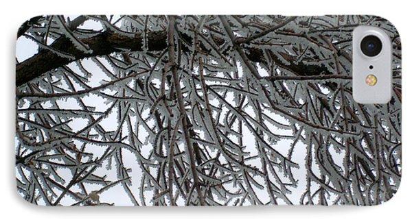 Icey Shield Phone Case by Joshua Dwyer