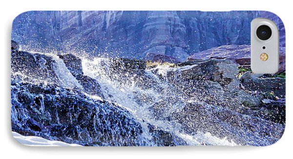 Icy Cascade IPhone Case by Albert Seger