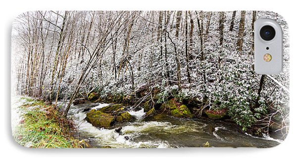 Icy Landscape IPhone Case by Debra and Dave Vanderlaan