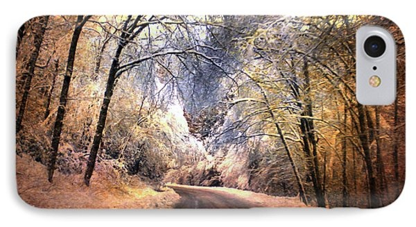 Icy Road Phone Case by Jai Johnson