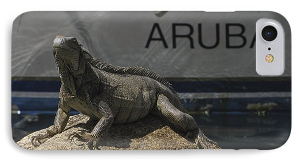 IPhone Case featuring the photograph Iguana by David Gleeson