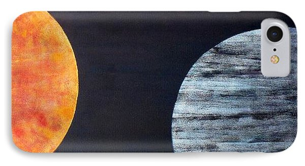 IPhone Case featuring the painting Illumination by Barbara Moignard