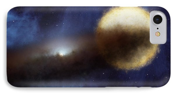 Illustration Of A Bright Star Called IPhone Case