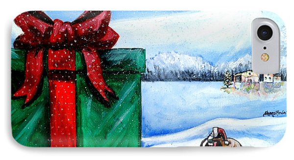 I'm Going To Need A Bigger Sleigh Phone Case by Shana Rowe Jackson