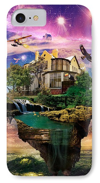 Imagination Home Phone Case by Kenal Louis