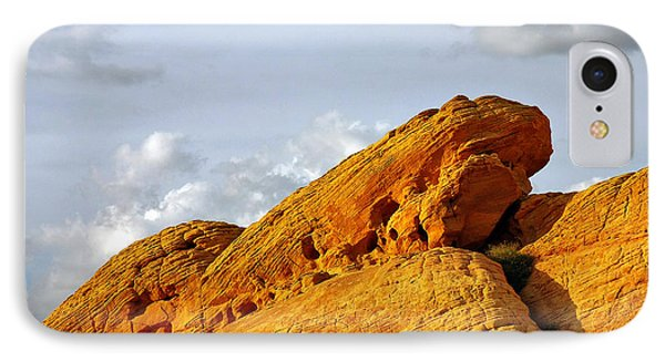 Imagination Runs Wild - Valley Of Fire Nevada Phone Case by Christine Till