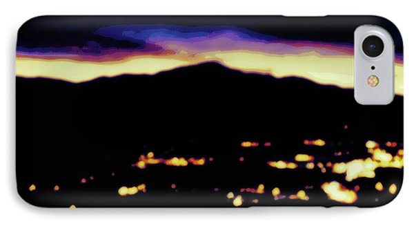 Impressionistic Pikes Peak IPhone Case