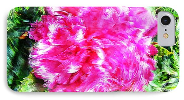 Impressionistic  Peony Phone Case by Barbara Griffin