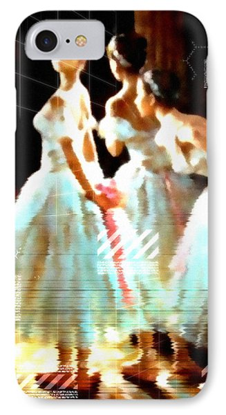 Impressions Of Modern Ballet IPhone Case