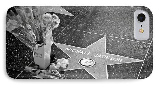 in memoriam Michael Jackson Phone Case by Ralf Kaiser