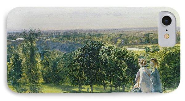 In Richmond Park IPhone Case by John William Inchbold